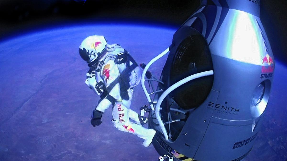 Felix Baumgartner's Record Jump