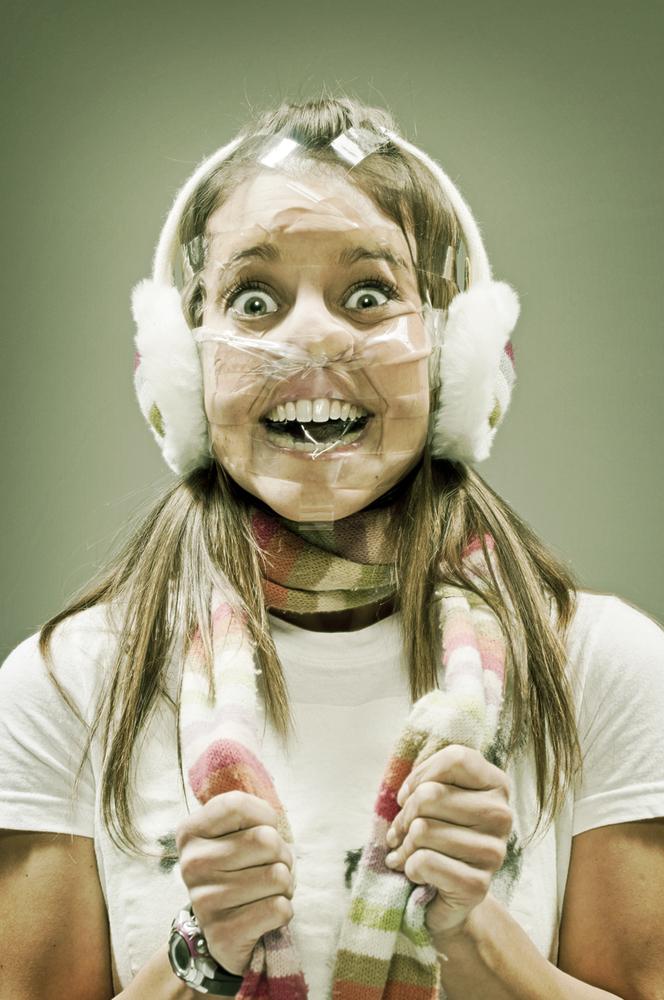 Tape Art Wes Naman S Photographs Show Terrifying Smushed