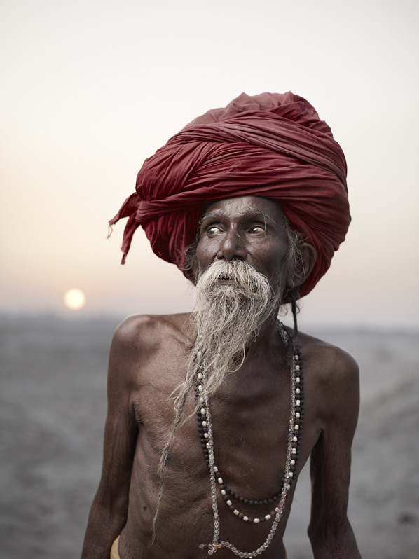 Arresting Sadhus Portrait Photography Religious Photography: 'Holy Men' Photography Series By Joey L Features Eerie