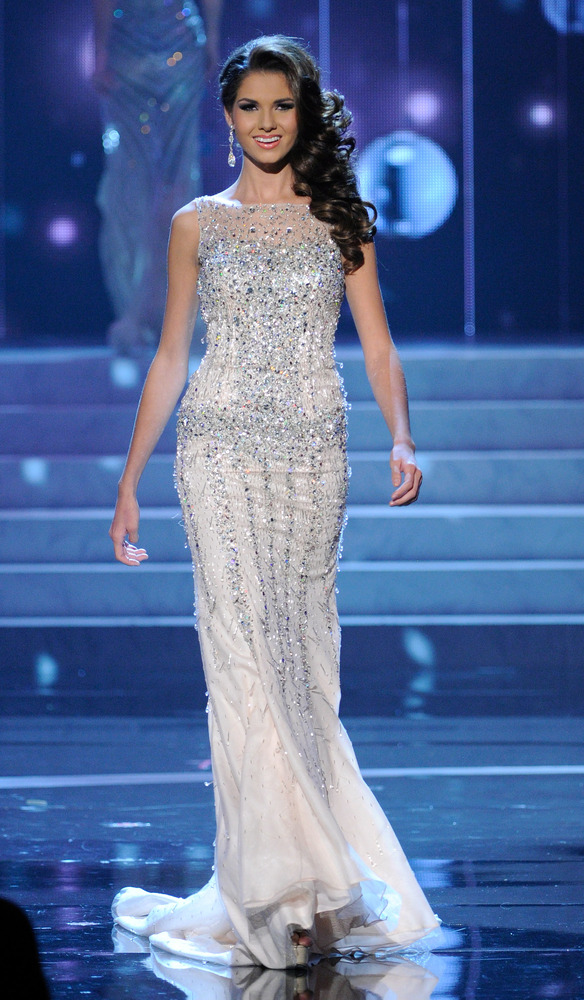 Miss Universe 2012 Evening Gowns Double As Wedding Dresses