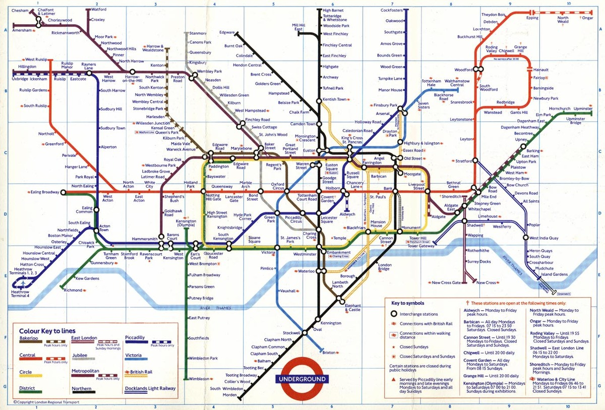 Night Tube Map Featuring 24-Hour Lines Released By London Underground   HuffPost UK