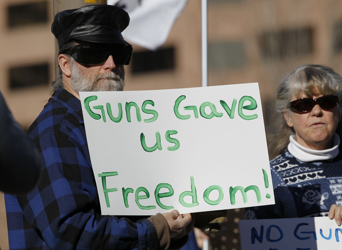 opinion essay on gun control Gun control is not the answer to mass shootings  when my son told me he had  a gun permit and top security  no one steers our opinion.