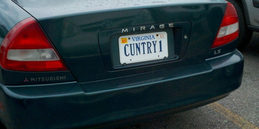 Funny 5 Character License Plates #13