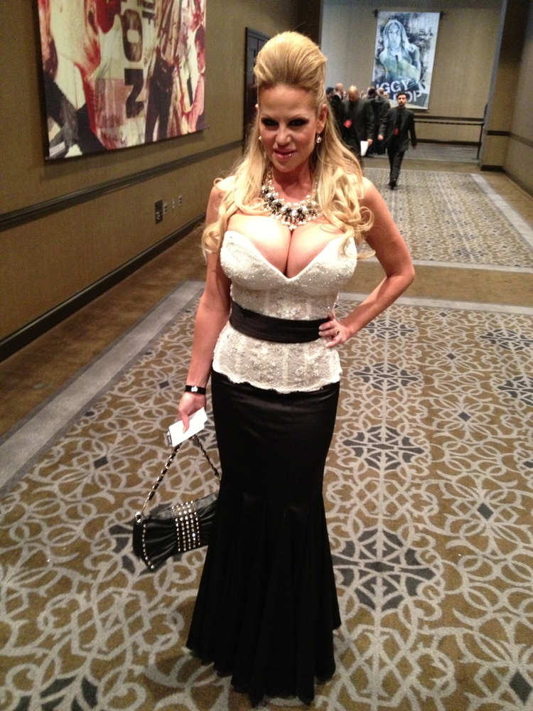 The award ceremony adult57 The award ceremony 2013 AVN Oscar in the