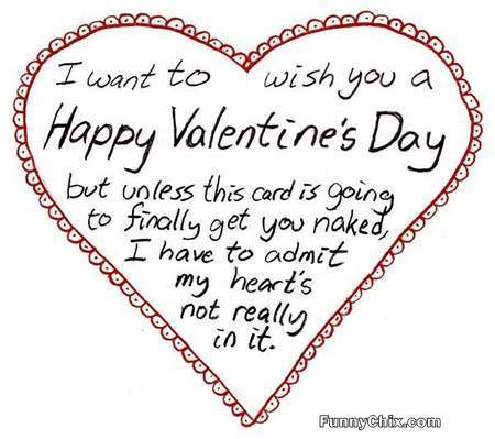 Happy Valentines Day Cards Funny Valentine Card For Him or Her – Funny Quotes for Valentines Day Cards
