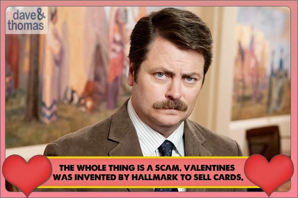Happy Valentines Day Cards Funny Valentine Card For Him or Her