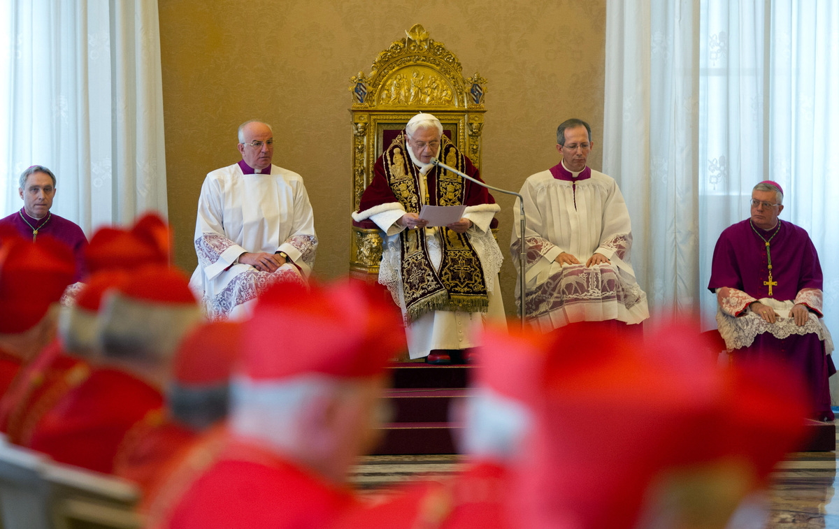 clerical whispers vatican secrets after pope benedict resignation