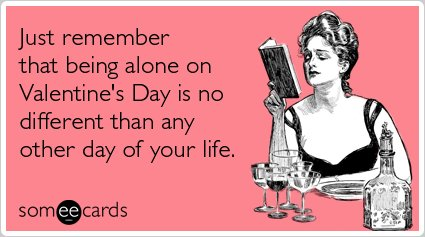 AntiValentines Day Cards 12 ECards You Wish You Could Send To – Valentine Electronic Cards