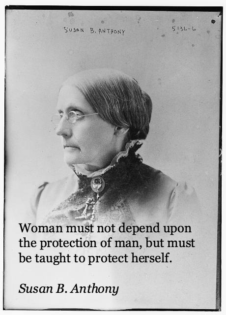 Susan b anthony quotes