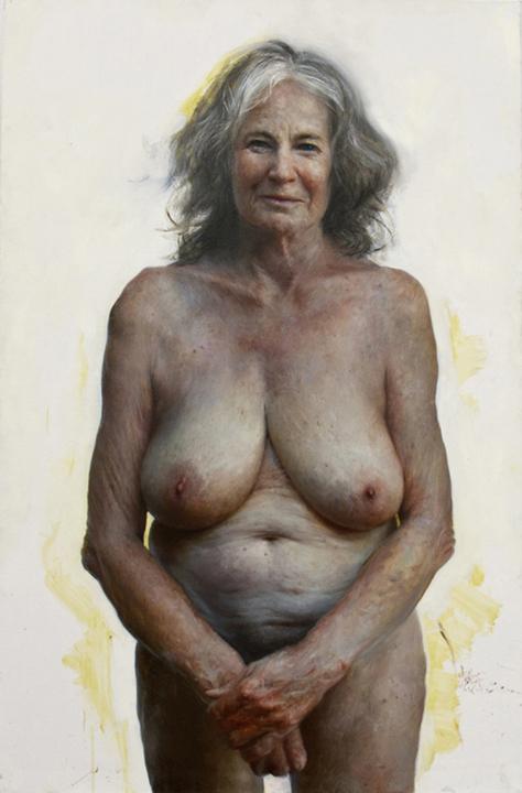 голые старые женщины фото ню