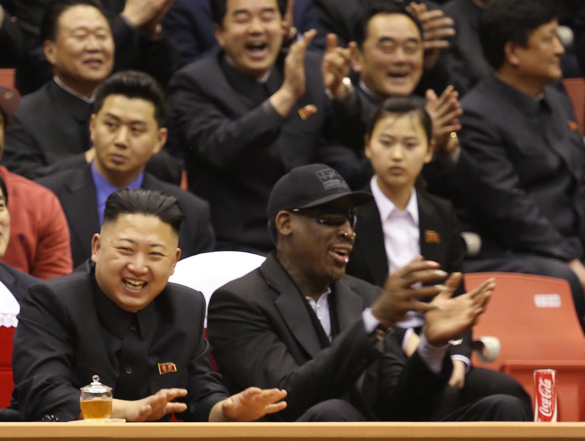 Dennis Rodman raconte ses vacances avec Kim Jong-un