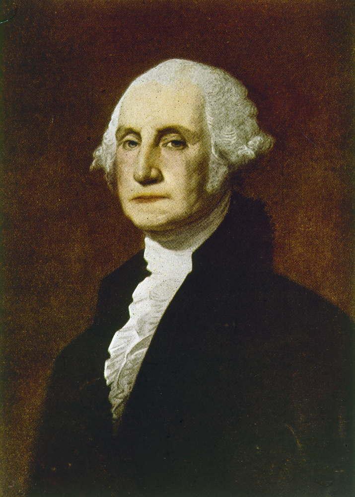George Washington Wear A Wig 90