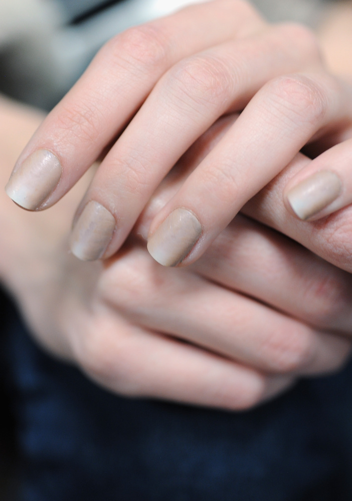 Alexander Wang Fall 2013 Nails: The Trick Behind This Nude