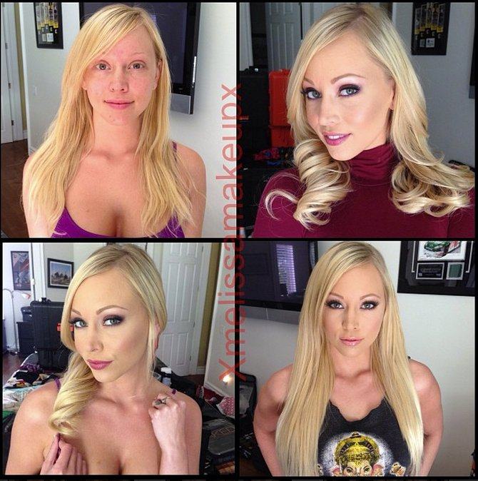 Pornstars before and after pics