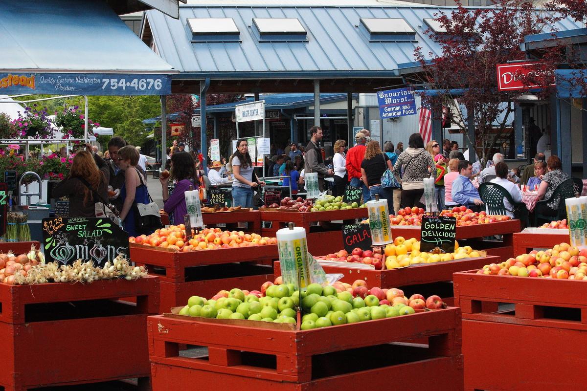 Farmers Market Downtown Olympia Wa