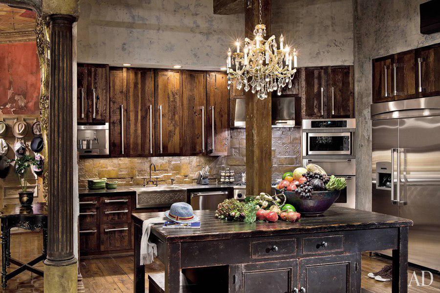 Romantic Celebrity Kitchen Designs
