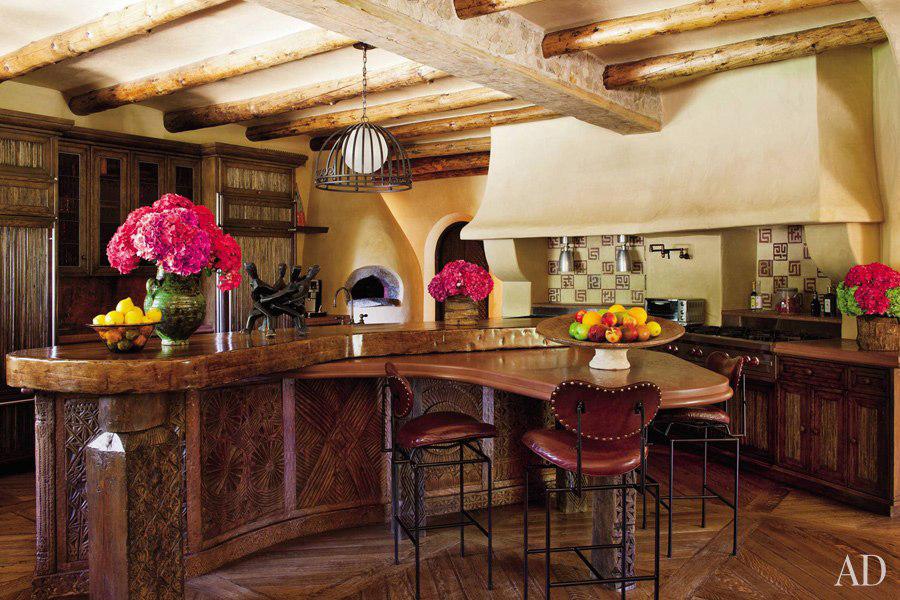 Romantic celebrity kitchen designs for Romantic kitchen designs