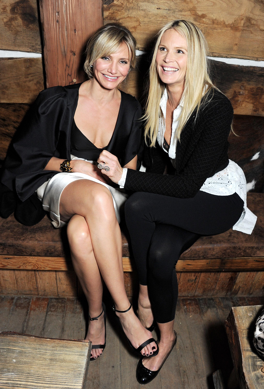 Photo of Elle Macpherson & her Sister  Elizabeth Macpherson