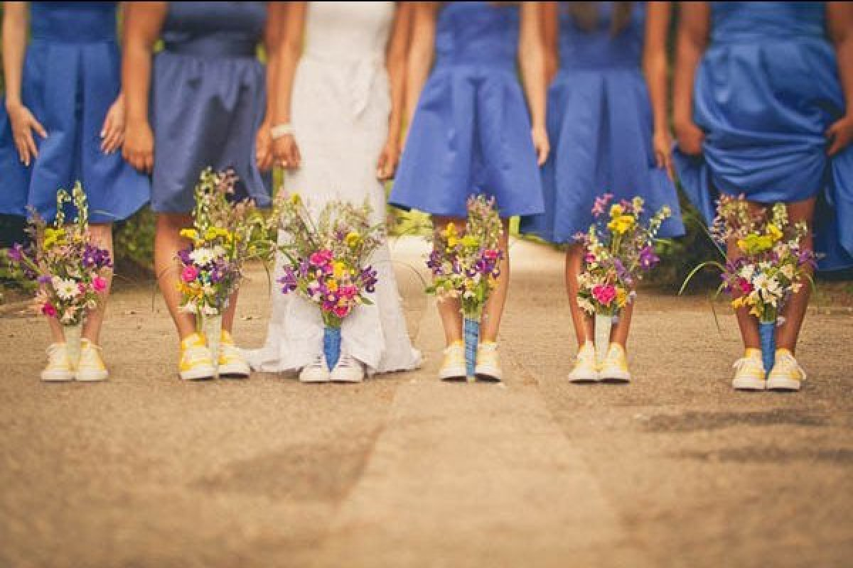 Bridesmaids' Bouquets