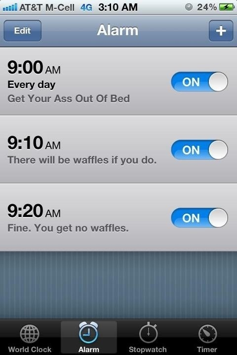 21 Motivational Alarm Clocks (PHOTOS) | HuffPost