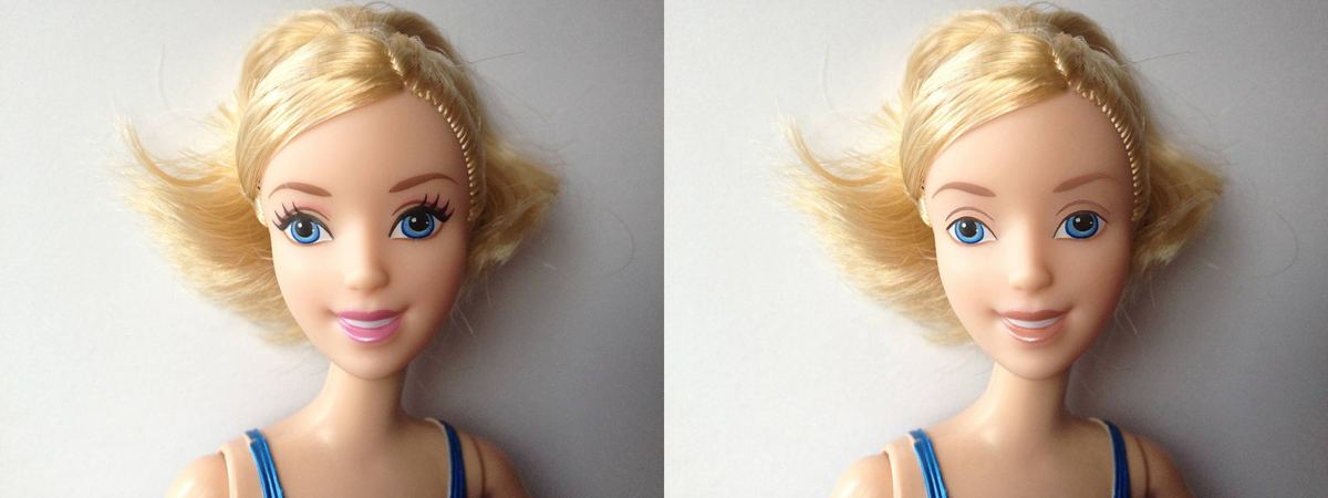 here s what bratz dolls look like without their makeup