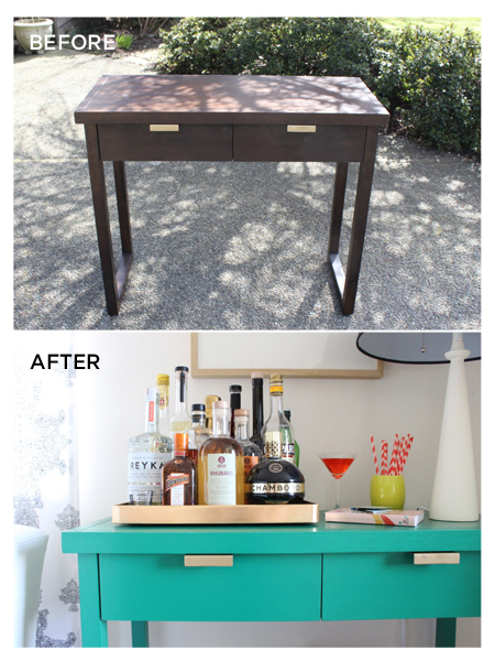 14 before and after diy paint transformations from our for Diy furniture transformations