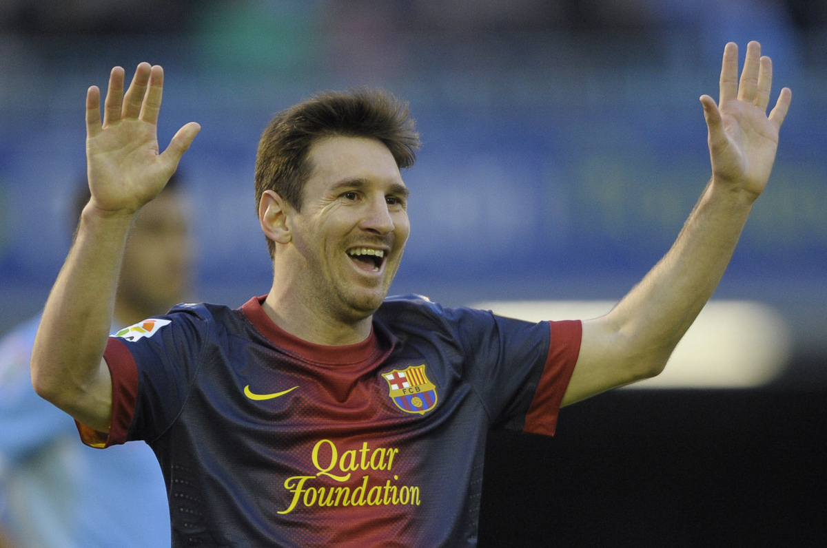 Famous soccer players 2013