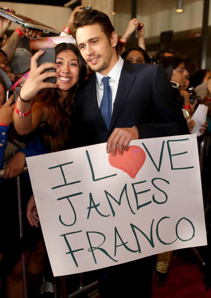 James Franco Recibe el Apoyo de Hollywood Para ser Christian Grey