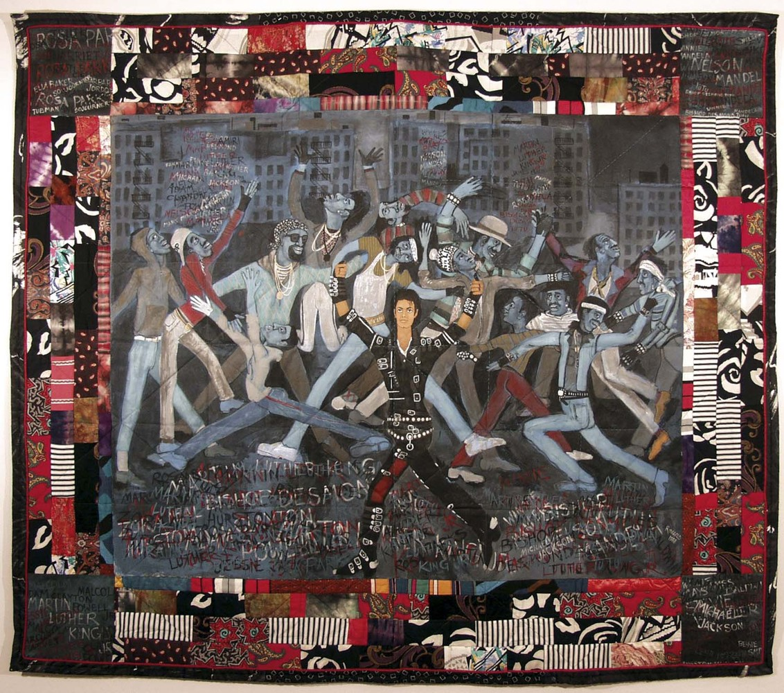 god bless america faith ringgold