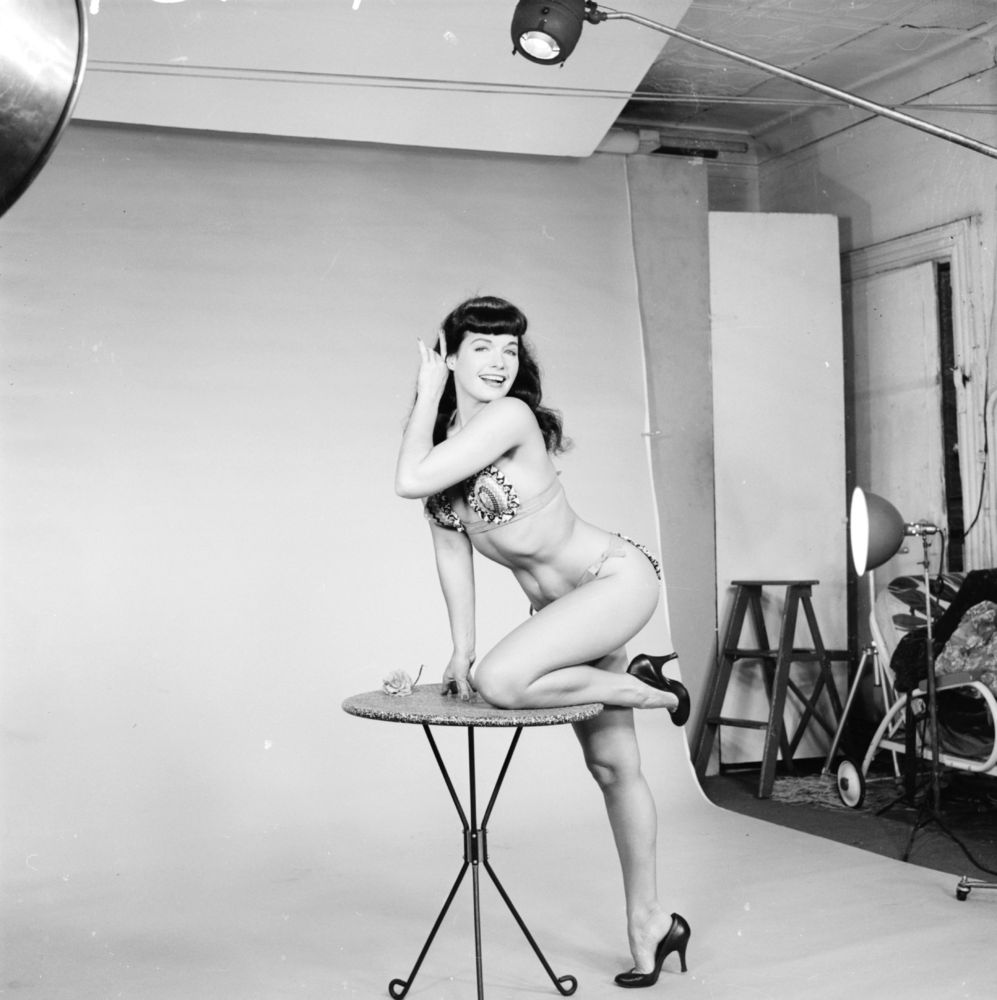 Betty Page Photos: Bettie Page Style Evolution: The Fifties Pinup That Still