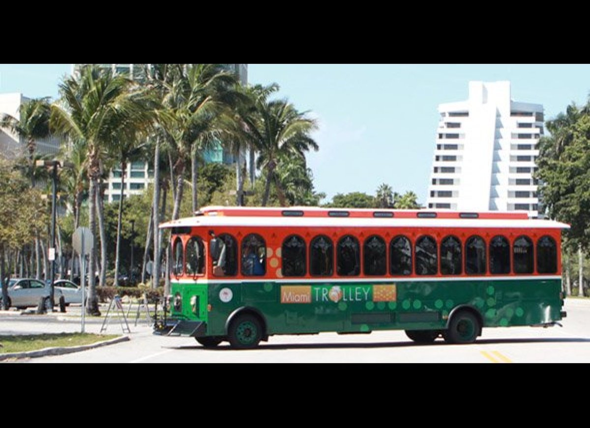 miami trolley extends route to downtown miami and coral