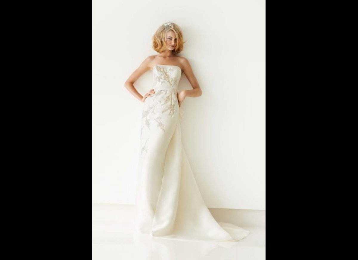 30 New Wedding Gowns Under 1 000 Huffpost