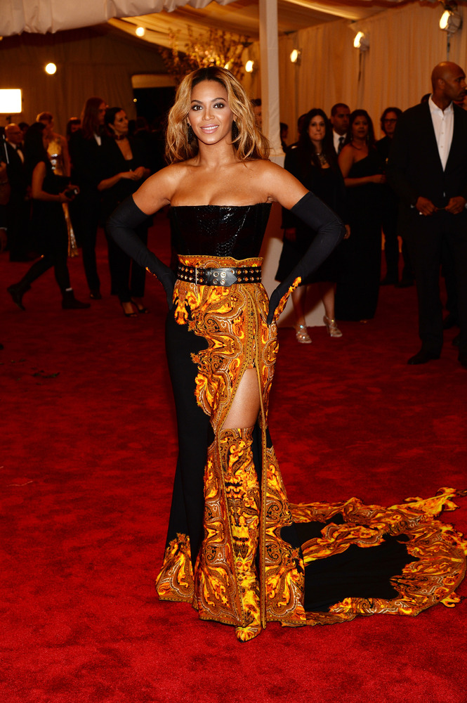 Beyonce Met Gala 2013 Dress: Orange And In Charge (PHOTOS) | HuffPost
