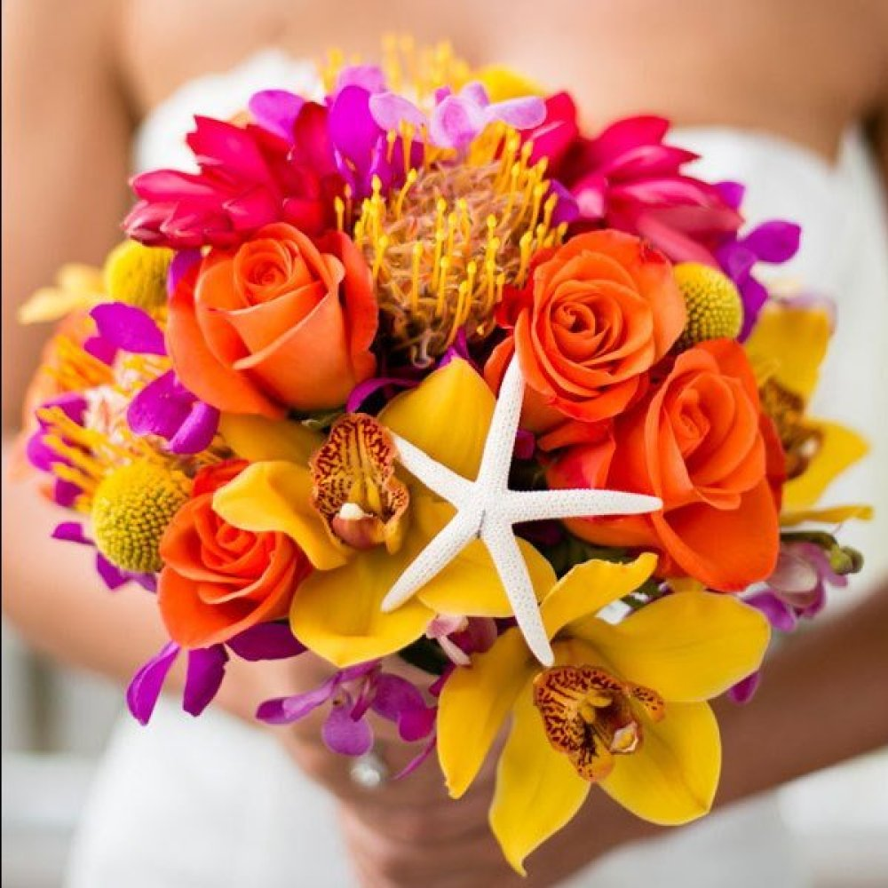 Beach Wedding Flowers: 50 Ideas For Beach Weddings