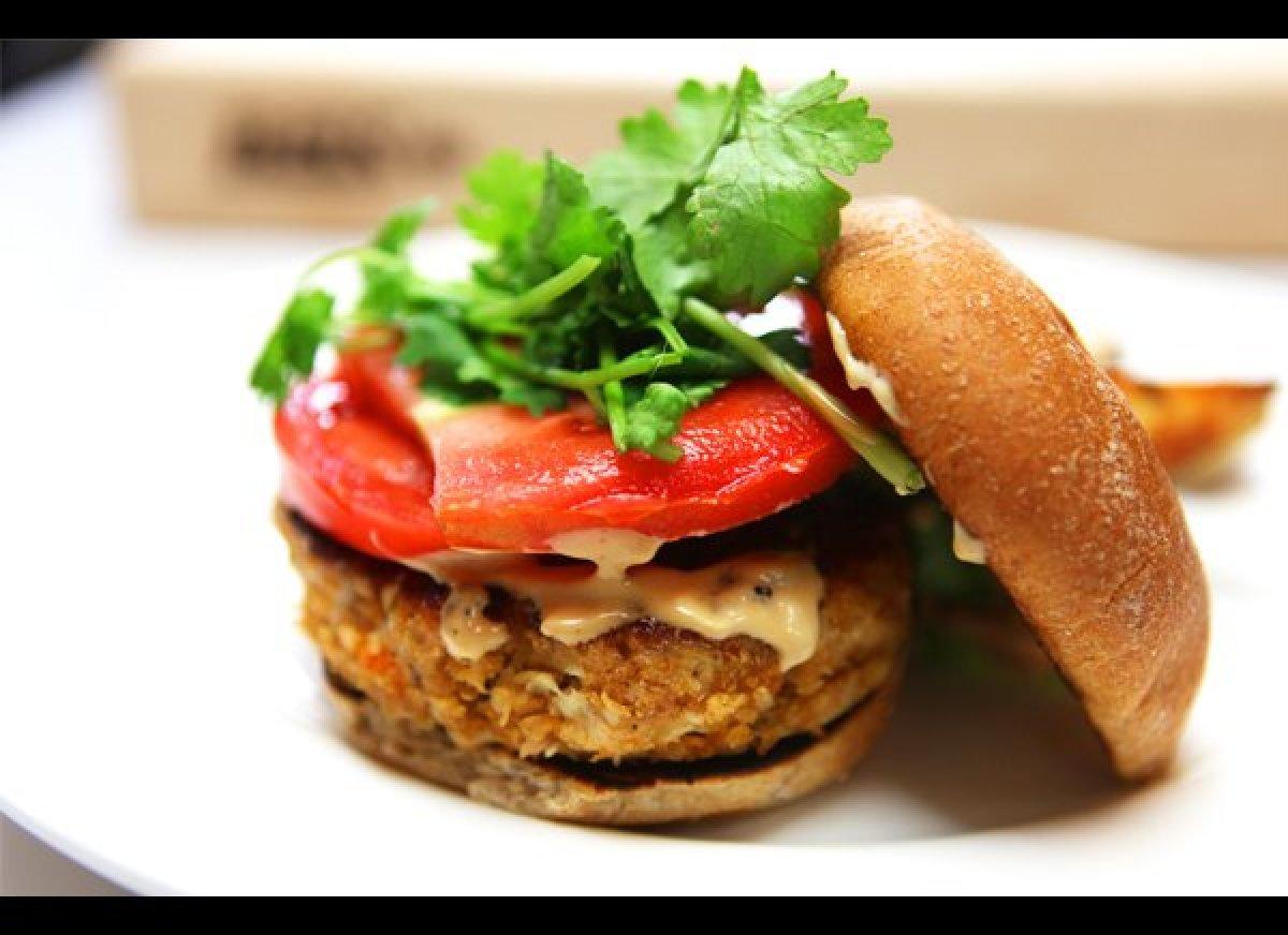 Blue apron turkey burger - Share This Slide