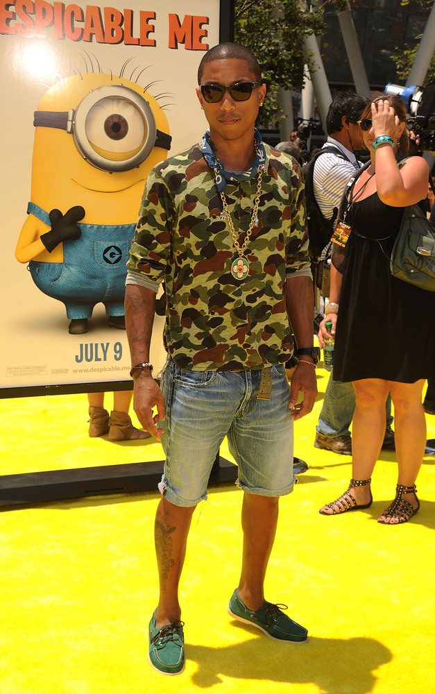 41 Outfits That Prove Pharrells Style Is Out Of This