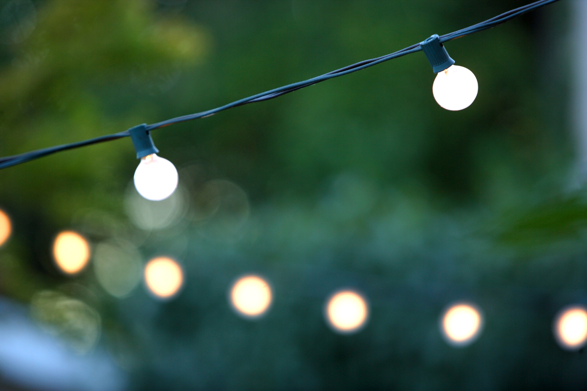 outdoor party lights weekend diy ideas 7 projects to tackle before throwing an 30225