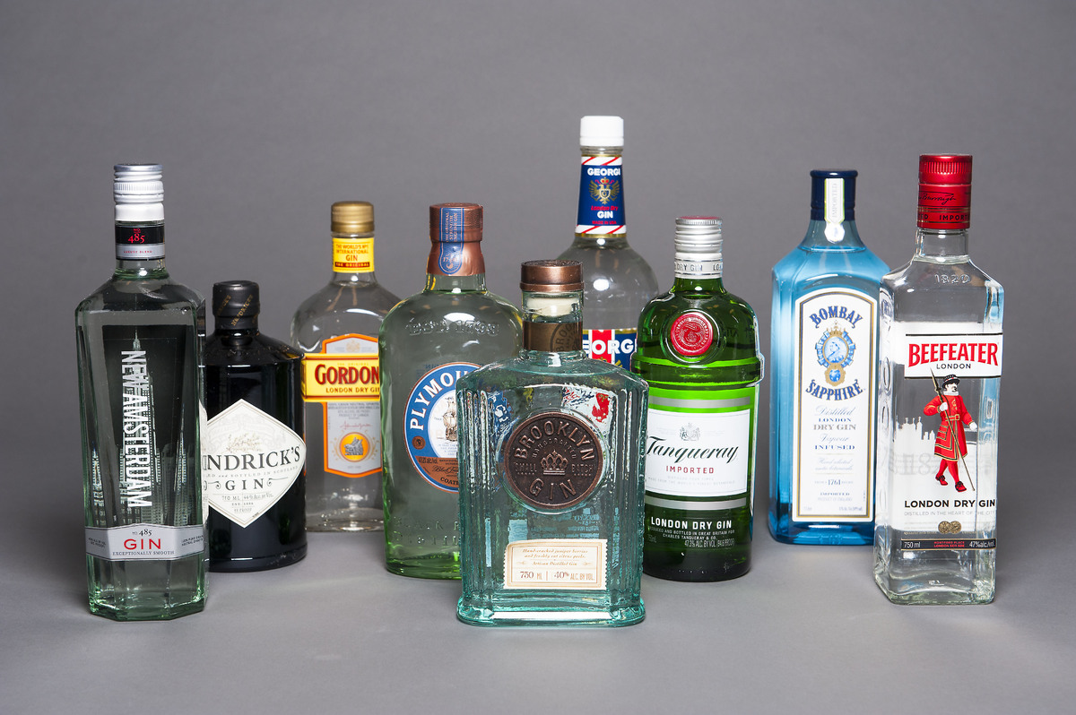 Gin and tonic taste test do expensive brands make a for Best juice with gin