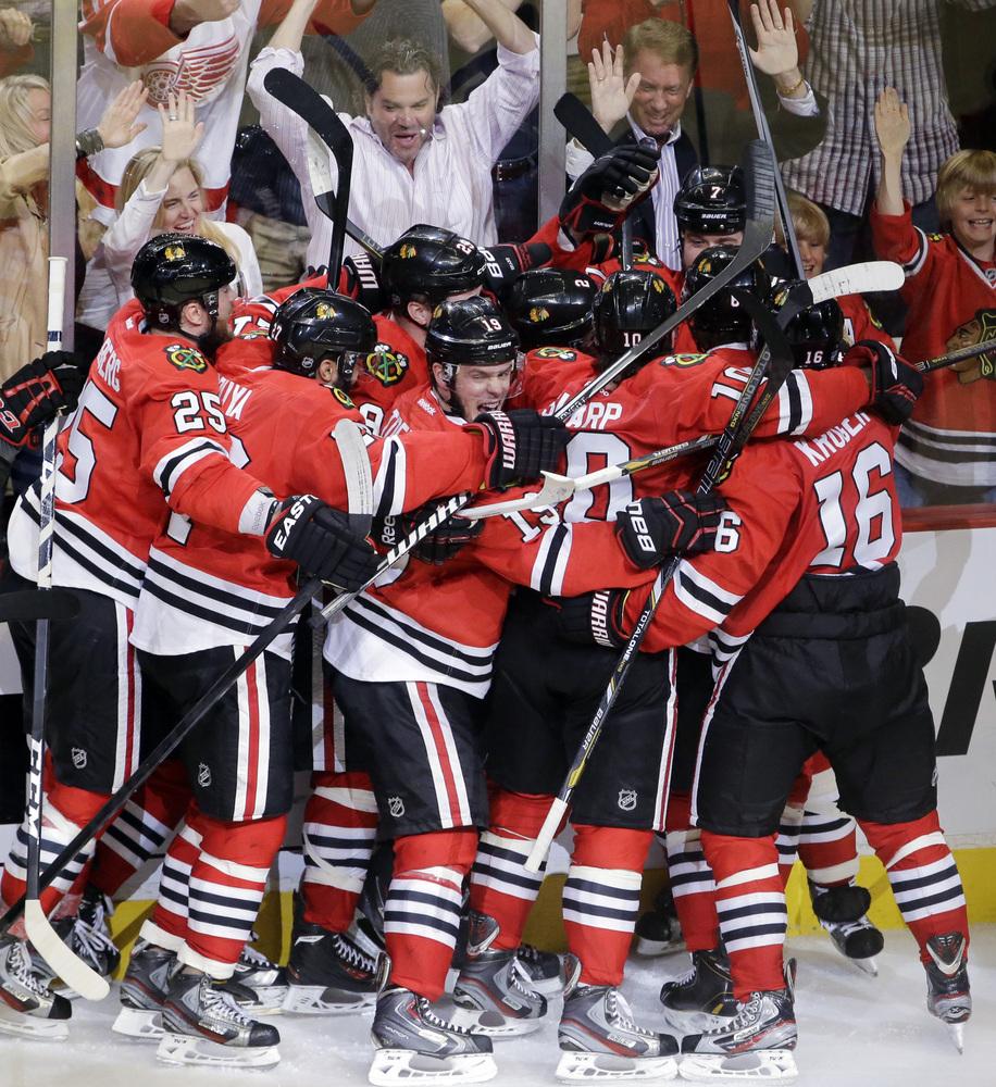 blackhawks red wings game 7