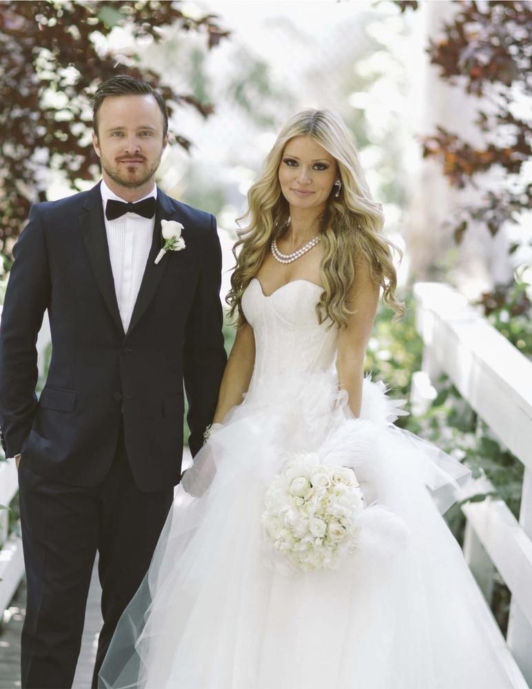 Aaron Paul wife ring