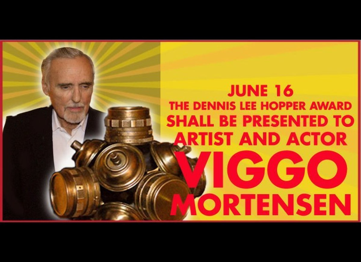 Images Passion and Fearlessness Take Center Stage As Viggo Mortensen Receives The Dennis Hopper Award At The AMFM Fest 4 Viggo Mortensen