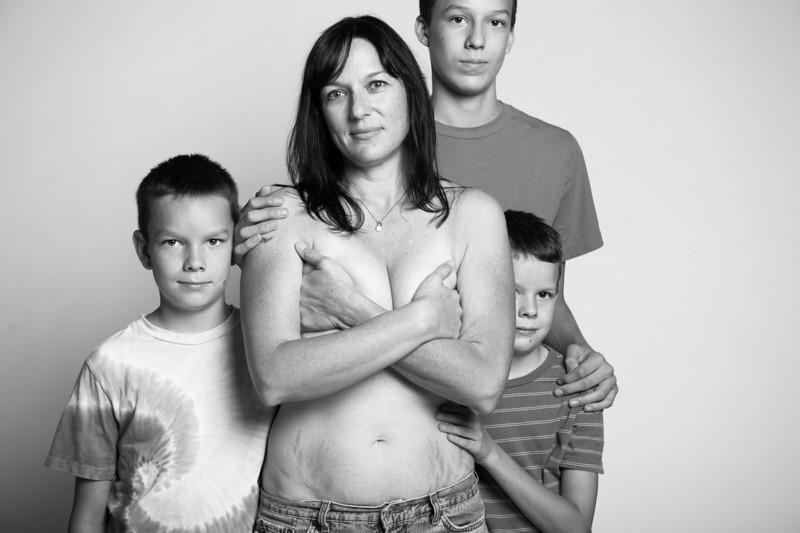 madres sin photoshop