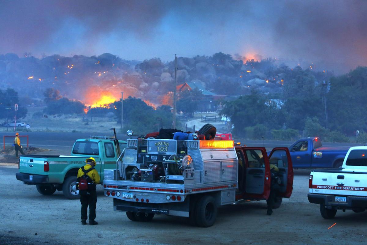 "In Loving Memory Of The 19 Members Of Arizona's Elite ""HotShot"" Firefighters Crew ~ Dedicated to Raine. Slide_306052_2640524_free"