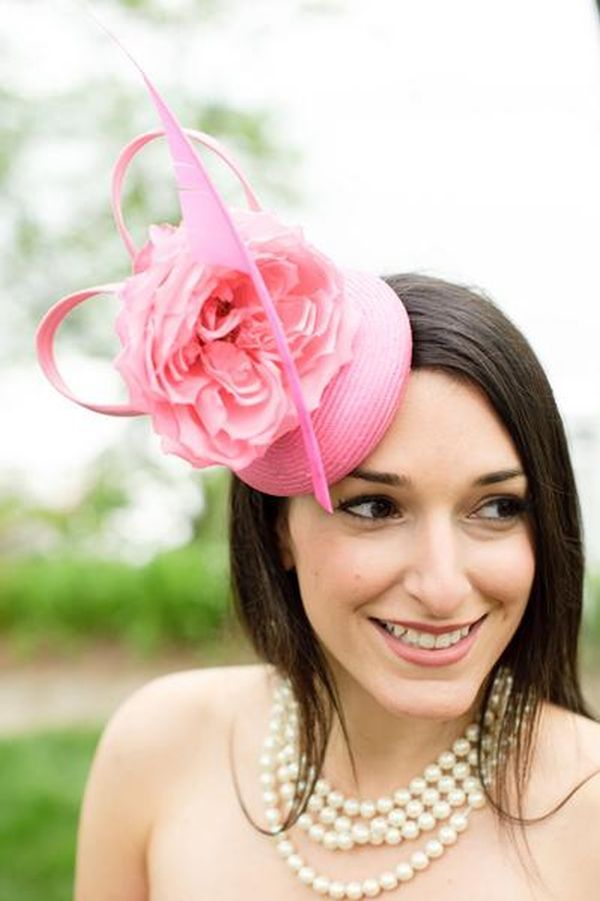 Wedding Hats To Suit Brides And Guests Alike (PHOTOS ...