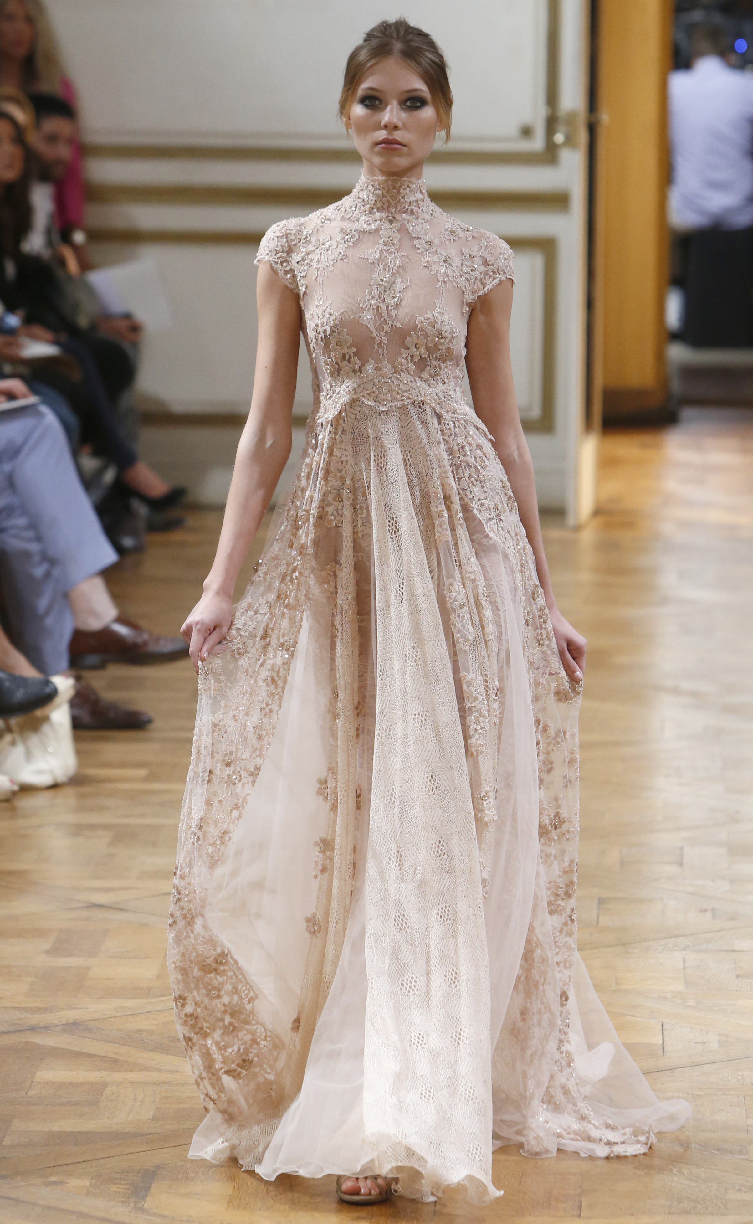 Zuhair murad autumn winter 2013 couture show highlights for American haute couture