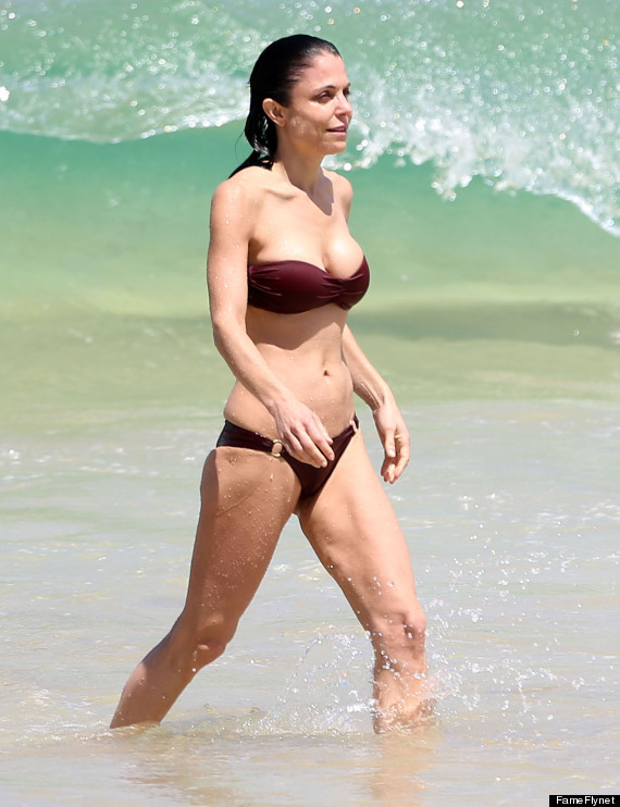 Grognards celebrity in bikini