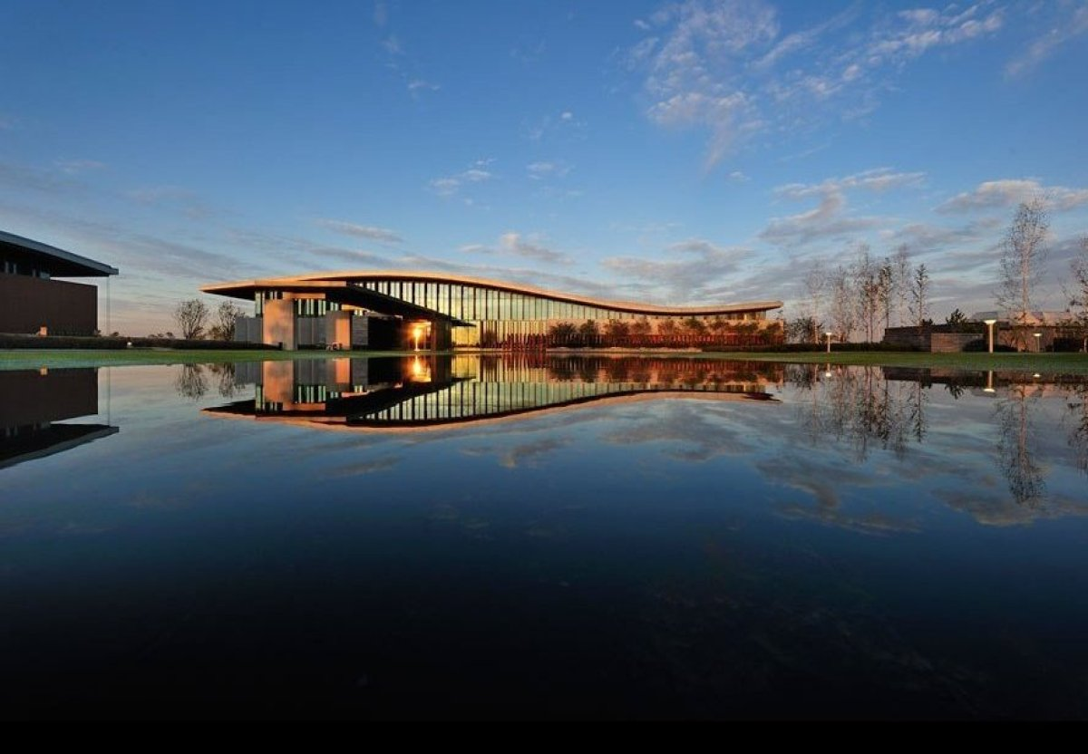 High Design Golf Clubhouses Around The World Huffpost