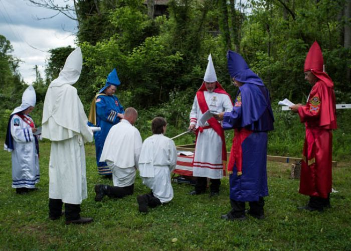 Georgia Governor Suspends Ku Klux Klan Mask Law During