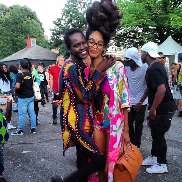 Female Afro Punk Fashion: AfroPunk 2013: All The Bold And Beautiful Street Style