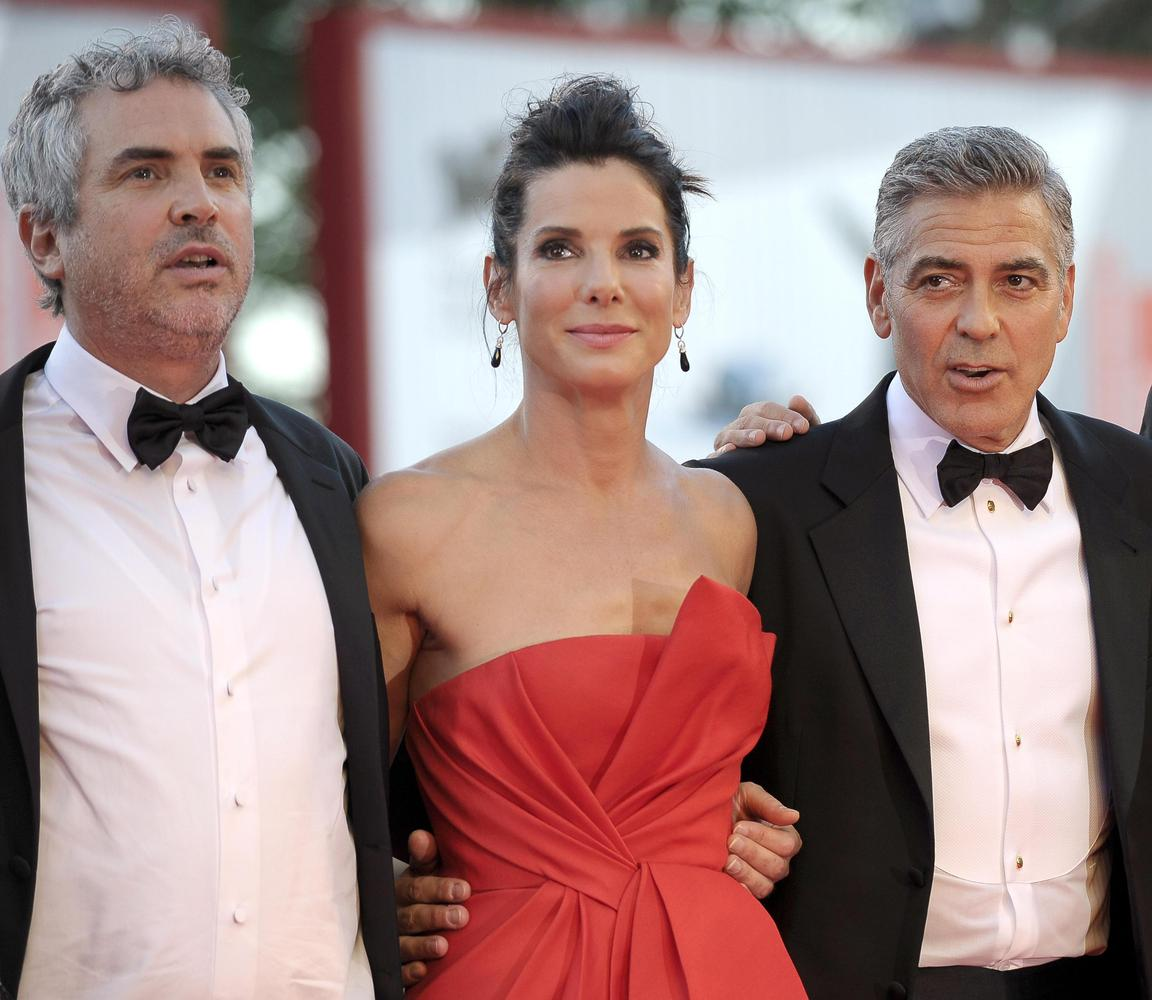 George Clooney and Sandra Bullock at the evening premiere of Gravity at Venice Film Festival - Page 2 Slide_314816_2852829_free